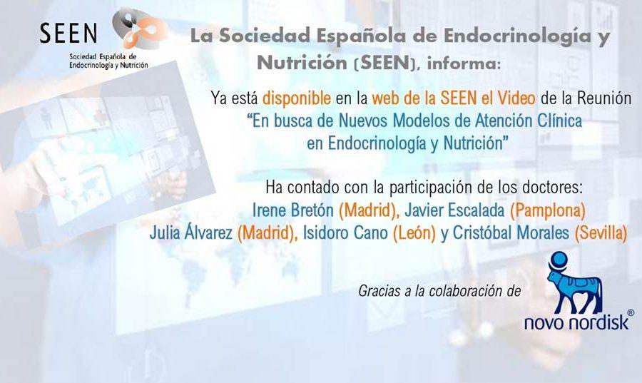En Busca De Nuevos Modelos De Atención Clínica En Endocrinología Y Nutrición